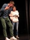 Třetí Listování v táborském divadle uvedlo humorný příběh Faktor Merde