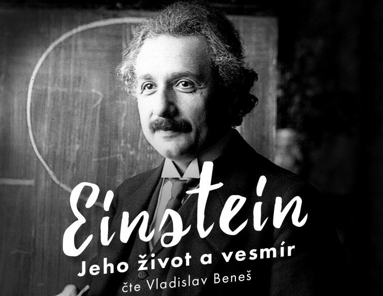 Soutěž o audioknihu Einstein - Jeho život a vesmír od Audiotéky