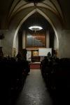 V hřbitovní kapli došlo na Hanzelkovy varhany i Deep Purple
