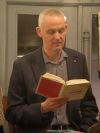 Spisovatel Jiří Hájíček představil Dešťovou hůl v Baobabu. Bylo absolutně plno