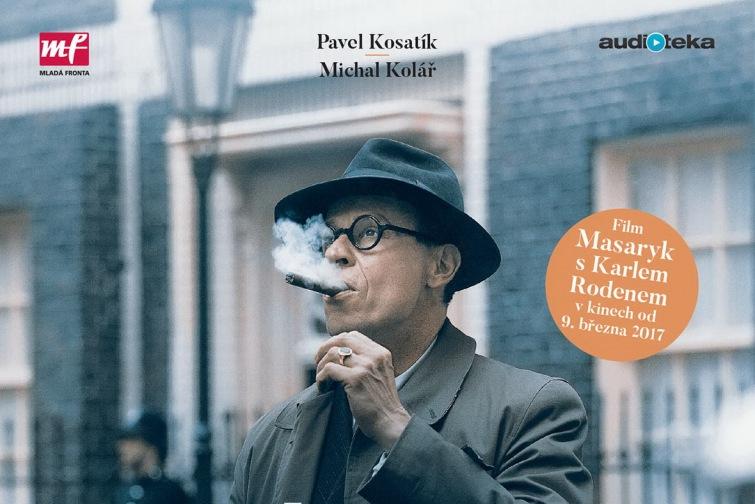 Soutěž o audioknihu Jan Masaryk - Pravdivý příběh od Audiotéky
