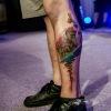 Černobílý i barevný svět tetování