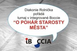 Diakonie Rolnička pořádá turnaj v integrované Boccie