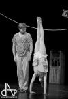Divadlo Oskara Nedbala ukázalo novou tvář, Bratři v tricku skočili do lidí