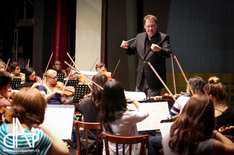 Stovky hudebníků z celého světa jsou zpět v Táboře. Zkouší Mozarta i Nedbala