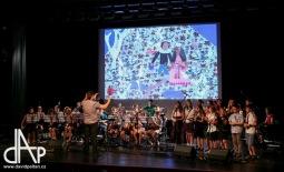 Happening ZUŠ Open měl v Sezimově Ústí úspěch. Studenti hráli a tančili pro plný sál