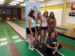 Zámečník i Heřmánková obhájili prvenství na třetím ročníku Tábor hraje kuželky