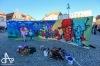 Na náměstí v Táboře se sprejovalo, pod věží zněl i hip hop