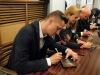 Michal Horáček se svými hosty vzdal v táborském divadle hold Petru Hapkovi