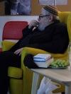 Karol Sidon navštívil táborskou knihovnu