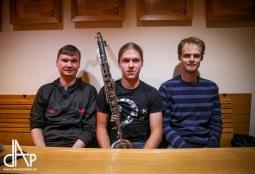 Klarinetový soubor Prachatice byl zlatý na Pražských vánocích, teď zahraje doma na jihu