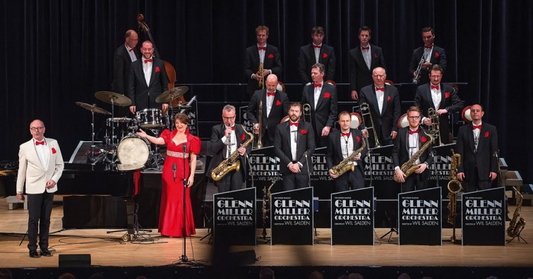 Glenn Miller Orchestra přijíždí do jižních Čech. Vystoupí v Budějovicích a Táboře