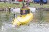 V Bežerovicích likvidovali bomby v rybníce. Ponorka pak zničila bojovou loď