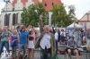 Bohemia Jazz Fest: Hrálo se na ráfek od kola i sprejem. Náměstí v Táboře tančilo