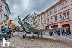 Do Českých Budějovic dorazí Spitfire, k prohlédnutí bude na Lannově třídě