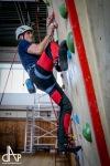 Na stěně si nejlépe vedl mladý písecký hasič, v soutěži družstev zůstalo vítězství doma