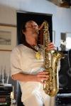 Rakouské duo Sax & Crime předvedlo i šlapající funky