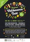 Nový Velikonoce fest nabízí street food a hry. Zahrají Please the trees, DiscoBalls i Fast Foodi