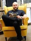 V rámci cyklu Spisovatelé do knihoven zavítal do Tábora Ondřej Hanus