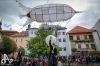 Před Sladovnou přistáli mimozemšťané. Zahájili městský festival Pískoviště