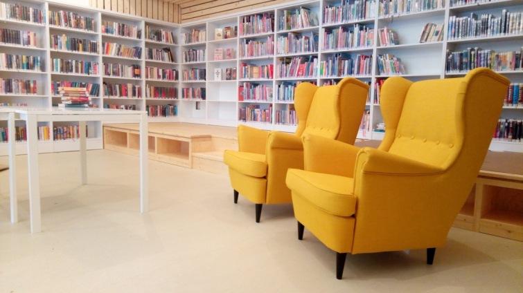 Opravenou knihovnu na sídlišti Nad Lužnicí představí veřejnosti