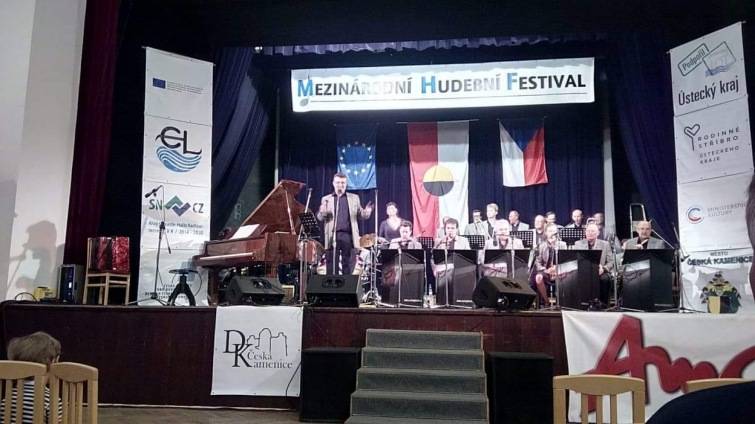 Táborský Swing Band skončil na mezinárodním festivalu v Děčíně bronzový