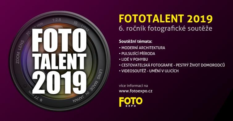 Festival FotoExpo vyhlásil soutěž Fototalent 2019. Nově můžete soutěžit i s videem