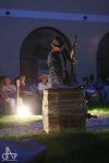 V Rajském dvoře Husitského muzea hořela vana. Lidi nadchl Vanař