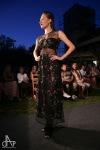 Zámek Brandlín zdobila módní přehlídka šatů návrhářky Hany Zelenkové