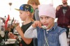 Čokoláda v ulicích Tábora. Děti tančily s Čokožroutem, dospělí degustovali