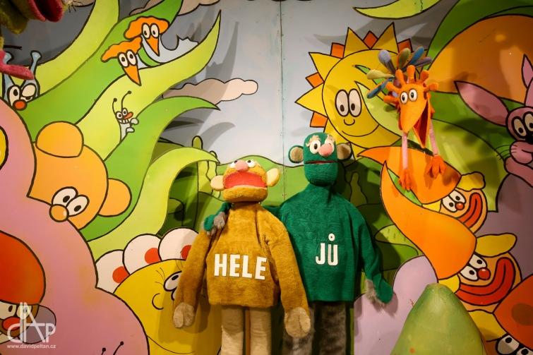 Nepropásněte Jů a Hele a Harry Showmana. V Třeboni končí výstava prací Stanislava Holého