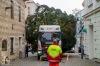 Vánoční strom v Táboře bude hezčí. Pracovníky ale pořádně potrápil
