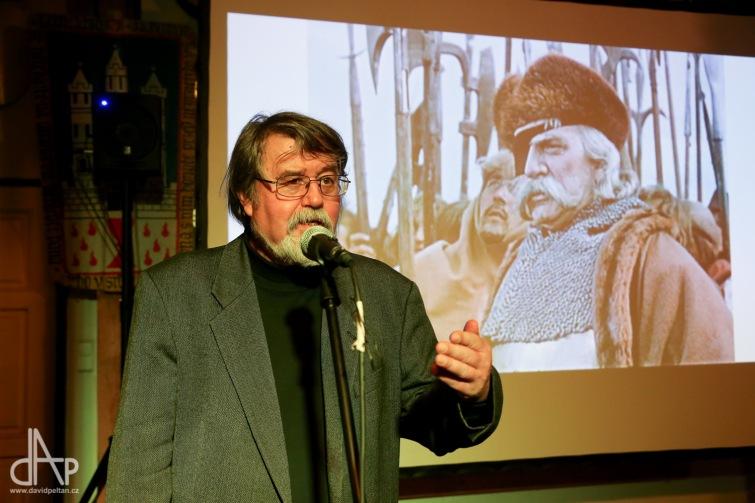 Petr Čornej nestíhal knihu o Žižkovi podepisovat