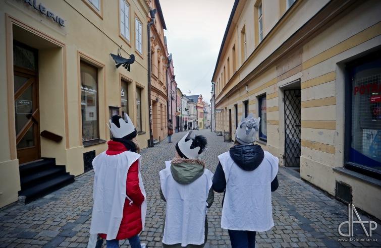 Tři králové vyrazili do ulic