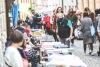 Festival nakladatelů Tabook skončil na ulici. Na pódium se vrátili Sabot