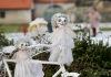 Nové Dvory zdobí desítky andělů