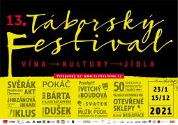 Táborský festival vína odhalil program. Nadělí Cimrmany, Kluse i jedinečné zážitky