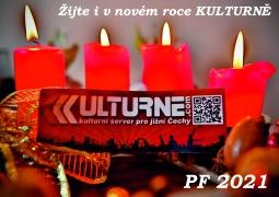 Pevné zdraví a spoustu kulturních zážitků přeje do nového roku tým Kulturne.com