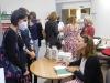 Karin Lednická představila v táborské knihovně svoji prvotinu Šikmý kostel