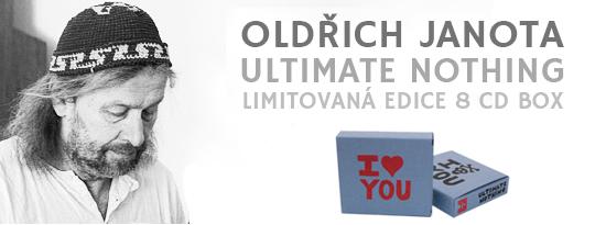 Oldřich Janota - Ultimate Nothing, limitovaná edice 8 CD BOX