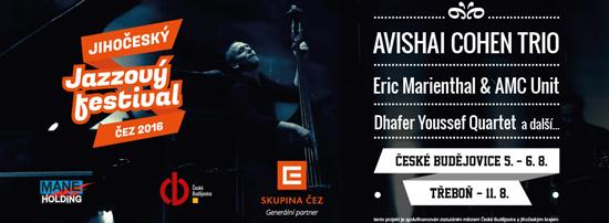 Jihočeský Jazzový festival ČEZ 2016