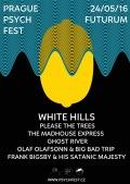 0. Prague Psychfest — White Hills — Please The Trees — další