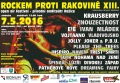 Festival Rockem proti rakovině 2016