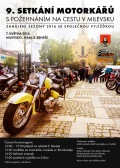 9. setkání motorkářů v Milevsku