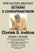 Diskusně vzdělávací večer - Setkání s chiropraktikem