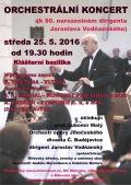 Koncert k narozeninám J. Vodňanského