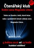 Čtenářský klub: Knižní cena Magnesia Litera