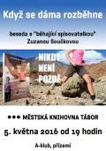 Beseda se spisovatelkou Zuzanou Součkovou