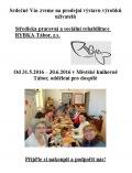 Prodejní výstava výrobků uživatelů Střediska pracovní a sociální rehabilitace RYBKA-Tábor, z.s.