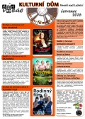 Program Veselského filmového klubu - červenec 2016